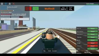 Roblox MTG Class 378 (MTG trains Livery) on Mainline Wellesley to Redloch via Wolfmill Part 1