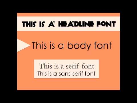best powerpoint presentation font