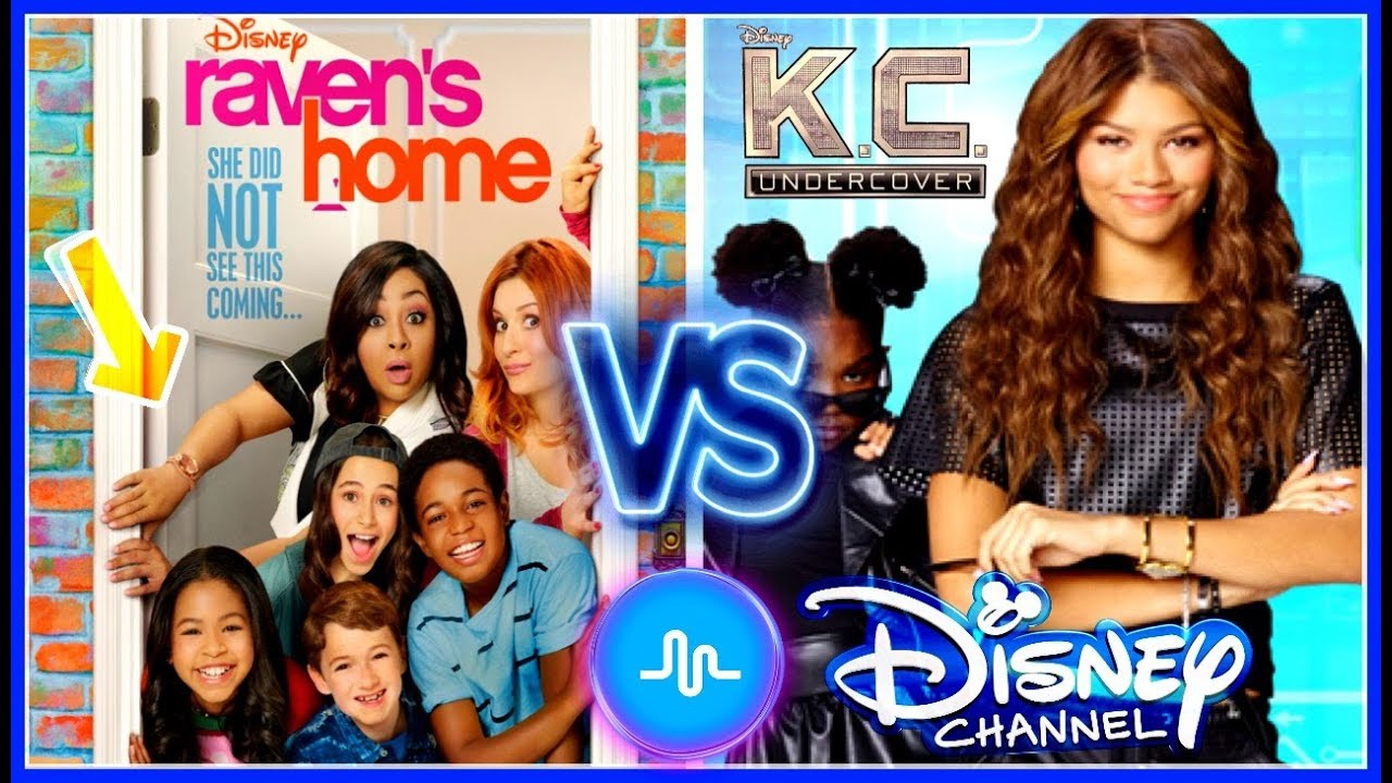 Raven's Home VS KC Undercover Musical.ly Battle | Famous Disney Stars New Musically