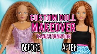 Barbie Custom Doll Makeover Transformation (#2: Midge)