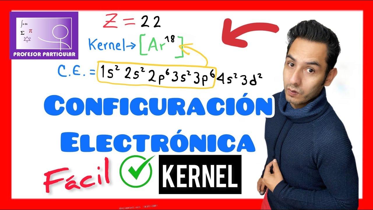 configuracin electrnica kernel