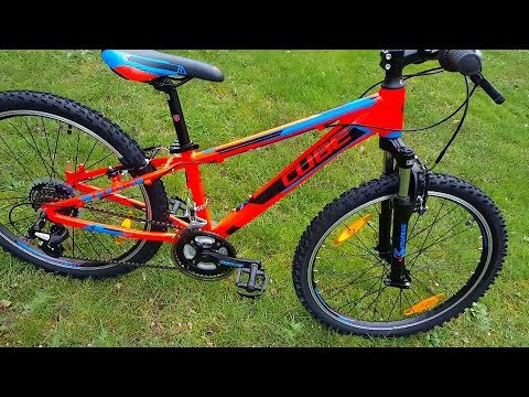 cube kid 240 action team mountainbike modell 2016 youtube. Black Bedroom Furniture Sets. Home Design Ideas