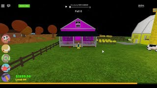 Roblox -|- Welcome to Farmtown! How to Change Your Buildings Colors?