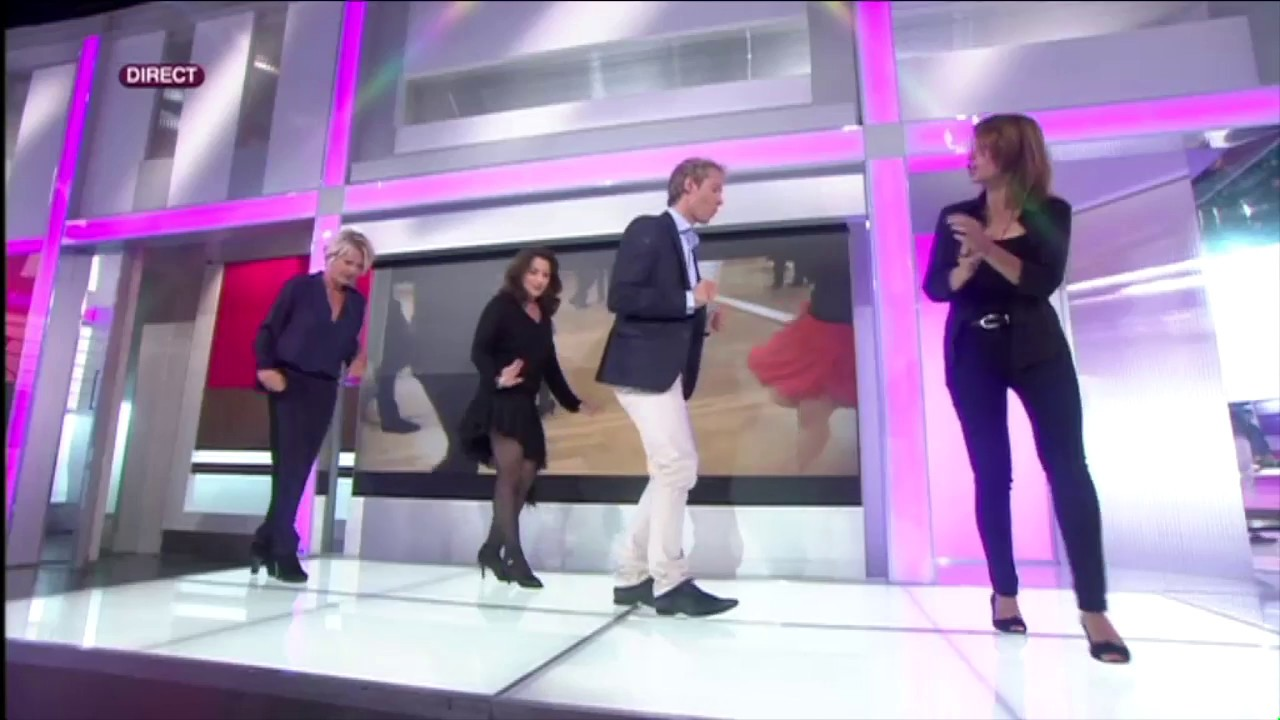 Au Salon De Danse Emission Sur France 2 Reportage