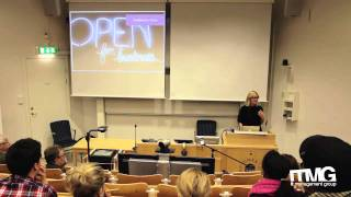 Sara Öhrvall, Bonnier R&D at Umeå University