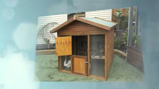 Wooden Dog Kennels, Rabbit Hutches, Chook Houses
