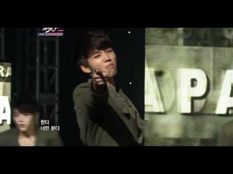 111028 - Infinite - Paradise (Goodbye Stage) @ Music Bank