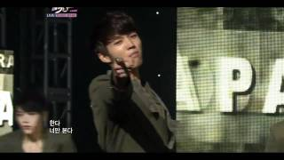 111028 - Infinite - Paradise (Goodbye Stage) @ Music Bank