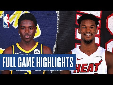 PACERS At HEAT | FULL GAME HIGHLIGHTS | December 27, 2019