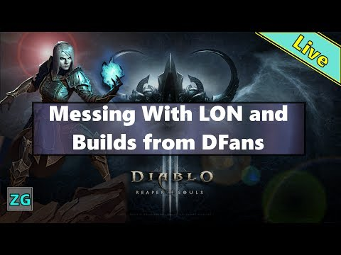 Diablo 3 Necromancer :: LON and Playing Around With Diablo Fans Builds