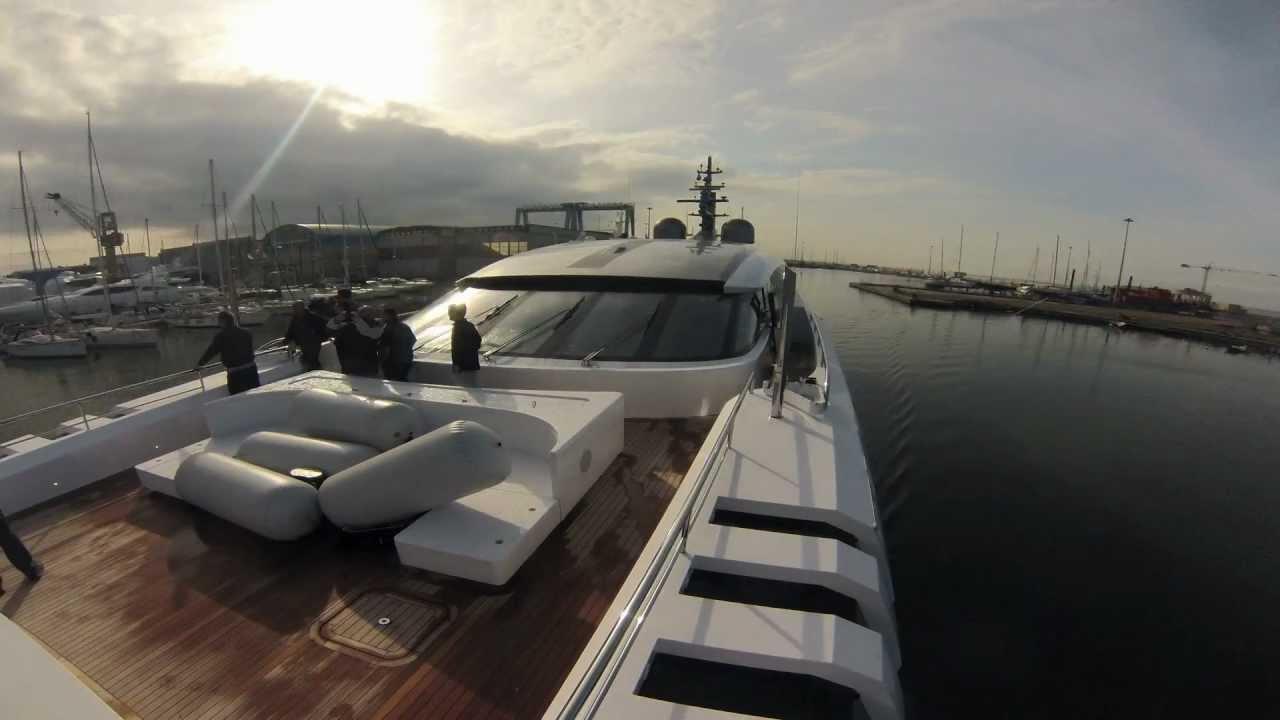 Mega Yacht Vellmari 2nd Sea Trial 23032013 YouTube