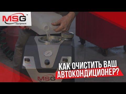 Промывка системы кондиционирования автомобиля