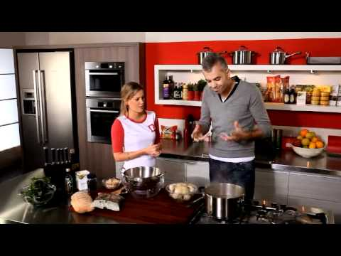 Chicken and White Bean Broth w Elbows Pasta Bannockburn