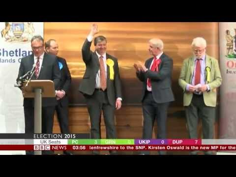 "Alistair ""Bruiser"" Carmichael, elected to Orkney & Shetland 2015."
