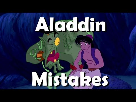 DISNEY'S ALADDIN Movie MISTAKES You Didn't Notice | ALADDIN Goofs