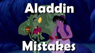 DISNEY'S ALADDIN MOVIE MISTAKES You Didn't Notice | ALADDIN Goofs