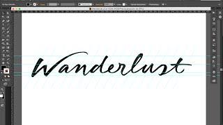 Tutorial de diseño gráfico: Cómo vectorizar un diseño de lettering — Dase