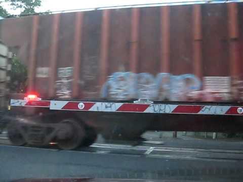 MJ train crossing