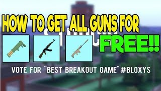 How to get *ALL GUNS* in Strucid *FREE & Fast*I Roblox Strucid!