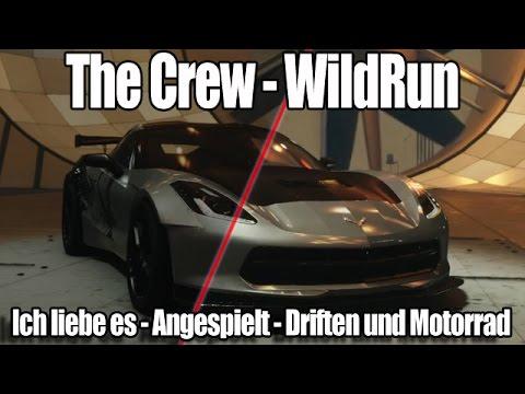 the crew wildrun angespielt driften und motorrad fahren deutsch hd youtube. Black Bedroom Furniture Sets. Home Design Ideas