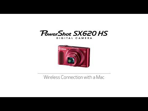 PowerShot SX 620 HS - Wireless Connection with a Mac - YouTube