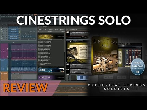Ultra-Versatile Solo Strings Library - CineStrings Solo Review