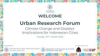 Download Lagu URBAN RESEARCH FORUM (URF) - SEMINAR SERIES 3 mp3
