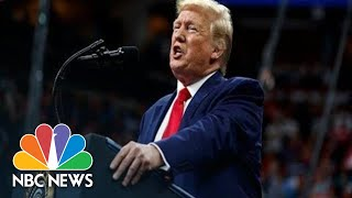 Watch Live: Trump Holds Campaign Rally In Louisiana | NBC News