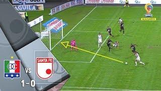 Once Caldas vs Santa Fe: resumen y gol del triunfo 1-0 del Once - Liga Águila 2018-II Fecha 14