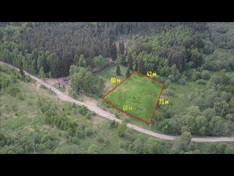 Показ участка с дрона | Продажа участка в Новой Москве | деревня Поляны | 40 соток