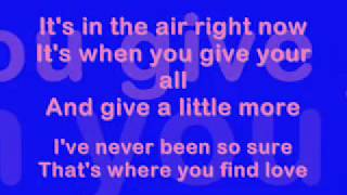 That's Where You Find Love (Lyrics) - Westlife
