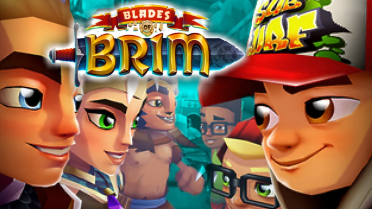 Download Blades of Brim - NEW SUBWAY SURFERS GAME! (iPhone Gameplay Video)