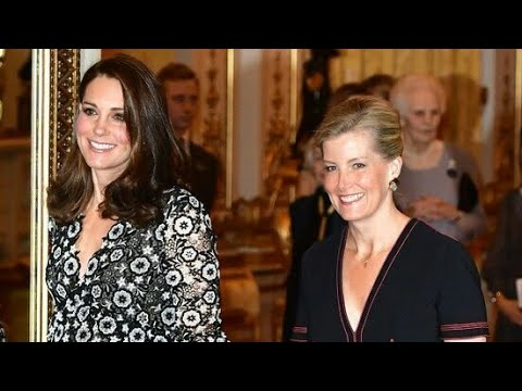 Royalty meets Fashion Royalty at the Commonwealth Fashion Exchange reception in Buckingham Palace