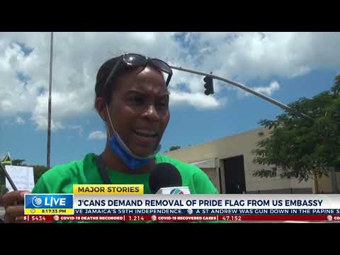 Jamaicans Demand Removal of Pride Flag from US Embassy | News | CVMTV