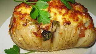 Картошка запеченная в фольге в духовке