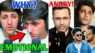 HUGE YouTuber Gets EMOTIONAL LIVE Due To HATE (A_S Gaming) | Sandeep Maheshwari, Rahul Vohra, BGMI |