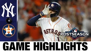 Download Carlos Correa's walk-off home run powers Astros to ALCS Game 2 win | Astros-Yankees MLB Highlights Mp3 and Videos