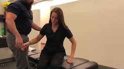 Massage therapist gets *UNBELIEVABLE* Chiropractic Adjustment