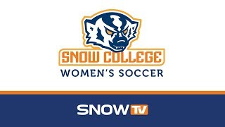 Snow College Women's Soccer: Snow vs. USU-E 10-17-2019