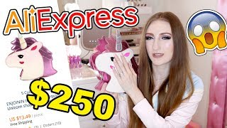 I SPENT $250 ON ALIEXPRESS!! HUGE BAG HAUL 2018