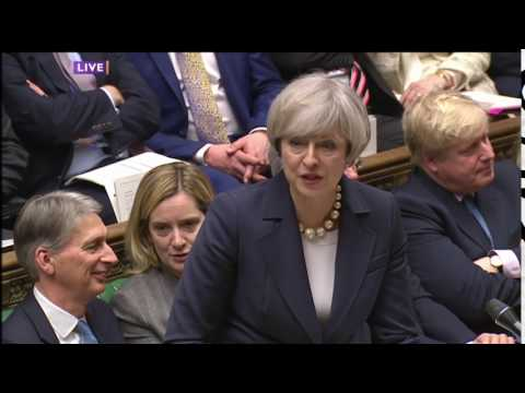 PMQs - Without irony, Theresa May 'What a woman wears is her choice' | 1 February 2017