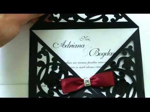 Invitatii Nunta 3652 Youtube