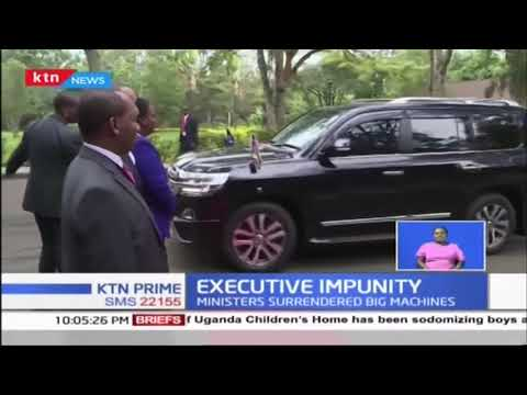 Executive Impunity: Ban on Guzzlers