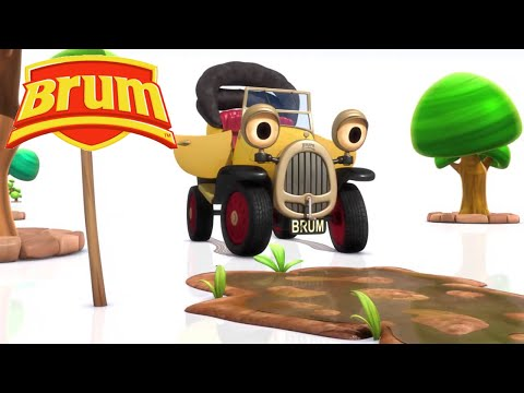 ★ Brum ★ Early Learning For Kids | Episode 1-3 Compilation! - FULL EPISODE HD