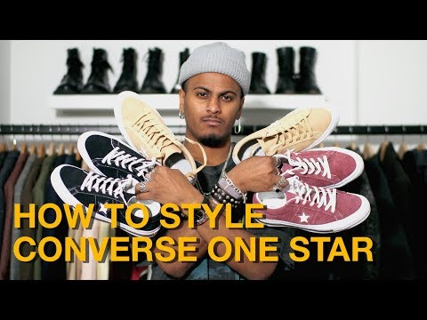 How To Style: Converse One Star
