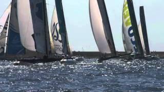 extreme sailing catamaran slide