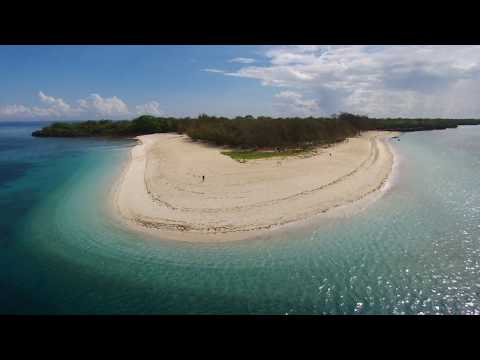 Mbudya Island, Tanzania - from the air...
