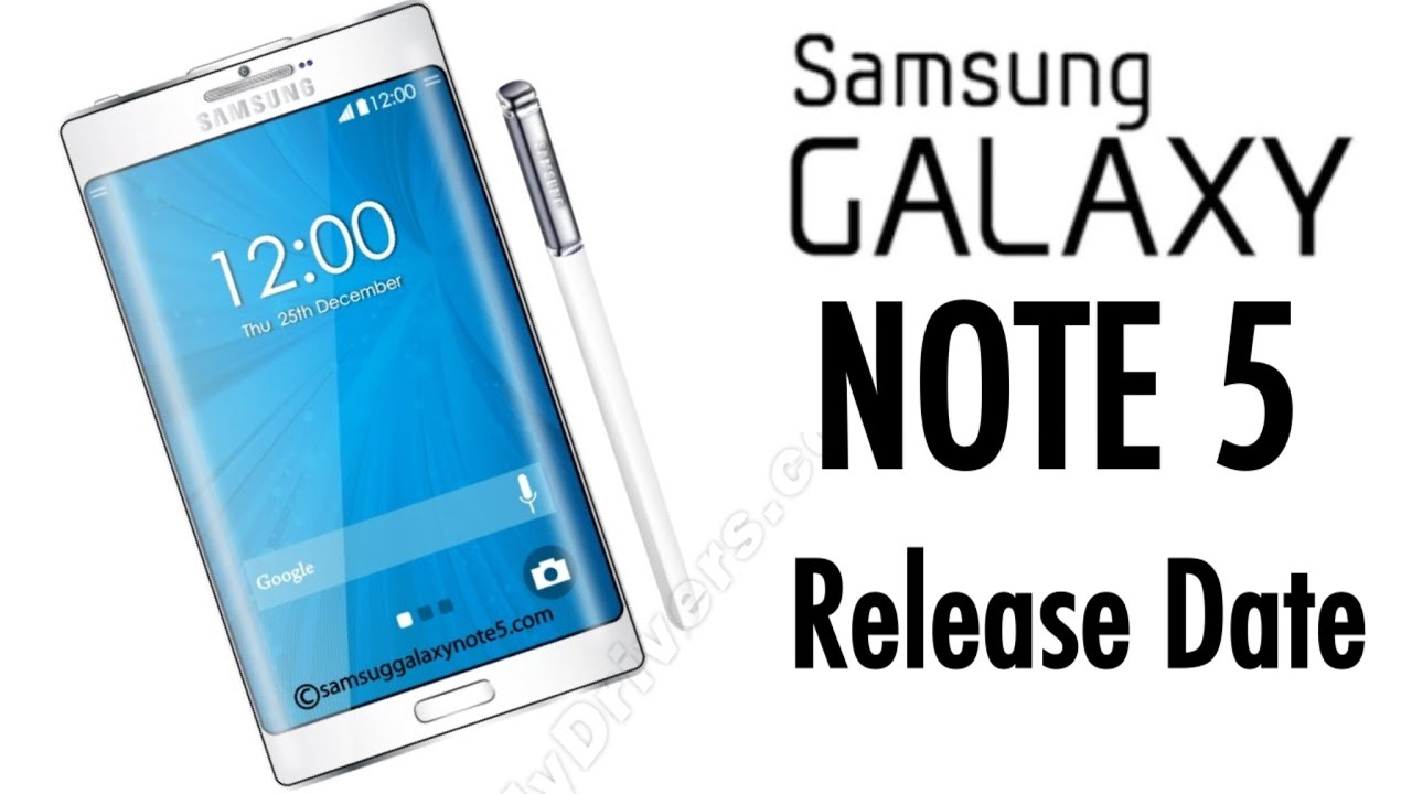 Samsung Galaxy Note 5 UK release date: When is the Note 5 coming out?