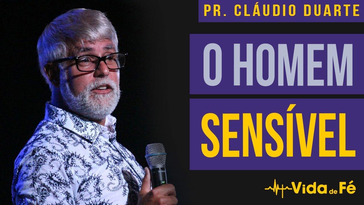 Cláudio Duarte - O HOMEM SENSÍVEL (TENTE NÃO RIR) | Vida de Fé