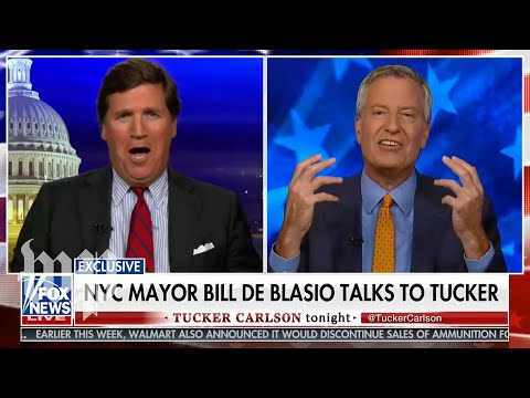 Tucker Carlson has some issues with New York City and its mayor